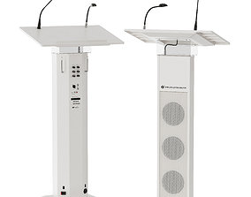 Conference Lectern Amplifier Tribune Show Csv640 3D model
