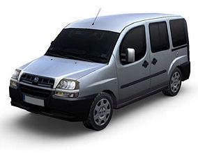 3D asset Fiat Doblo