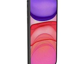 iPhone 11 smartphone 3D model