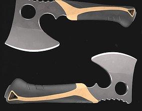3D asset Axe Hatchet Low-Poly PBR GameReady