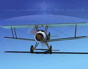 Sopwith Camel 3D rigged historic
