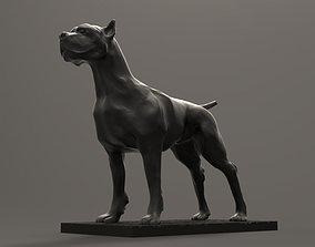 Pitbull Dog 3D printable model