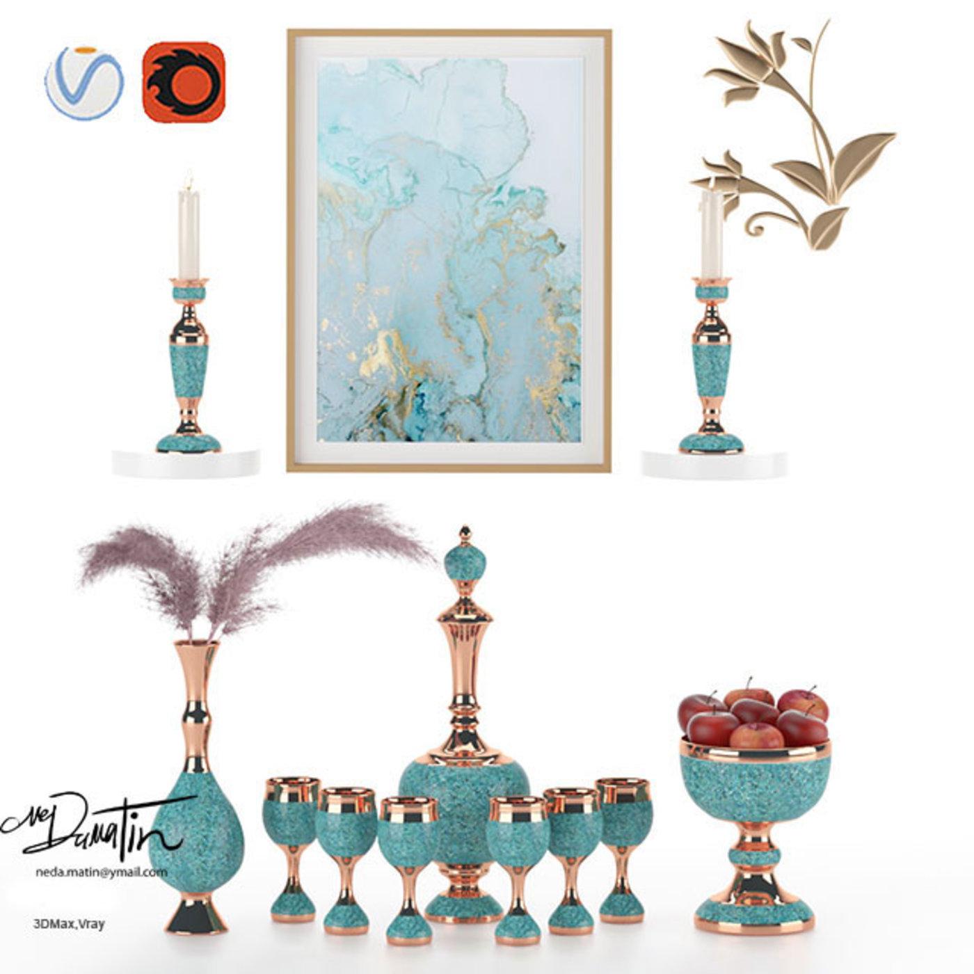 Turquoise Decorative Accessories