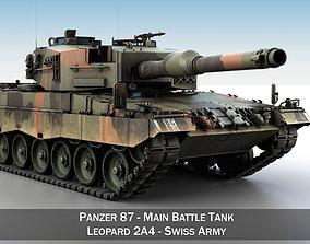 3D Panzer 87 - Swiss Army
