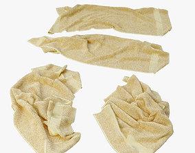 fallen towels 3D