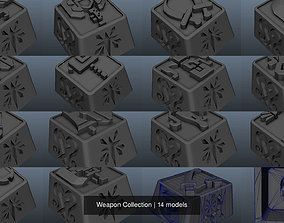 cherry 3D model Weapon Collection