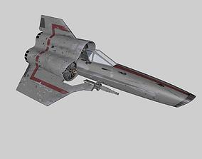 Viper MK IV fighter Star Wars 3D