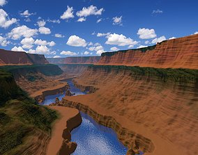 erosion Grand Canyon 3D model