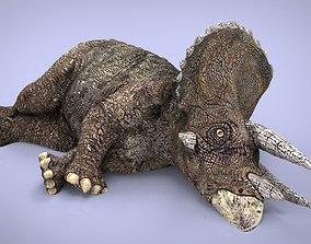 TRICERATOPS predator 3D model realtime