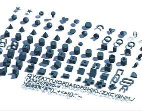 Primitive 150 3D asset