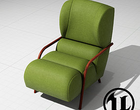 3D model Papa Chair UE4