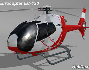 3D asset Eurocopter EC-120 HeliDax