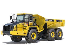 3D model load Articulated Dump Truck Komatsu HM400-5
