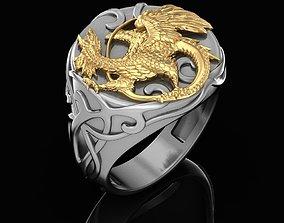 3D printable model Bird ring griffin