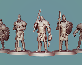 toys Knights pack miniatures 3d print model