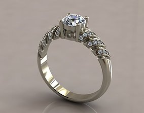 3D printable model Dimond engagement ring