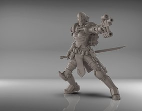Warrior 75mm 3D printable model