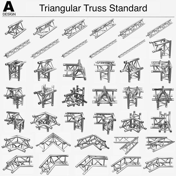 Triangular Truss Standart 008