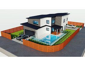 3D model city Australian House 2