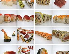 Sushi Assortiment 3D model