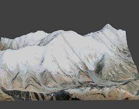 3D asset Nanga Parbat Mountain