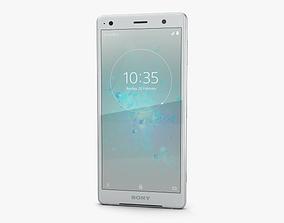 Sony Xperia XZ2 Liquid Silver 3D ericsson
