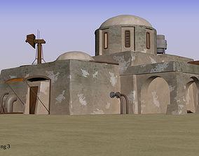 Tatooine building 3 3D model