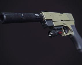 3D print model Glock 17 modification