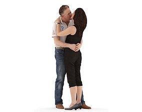 Antonia Frank posed 3 3D model