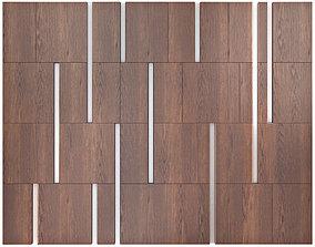 Decor wood Panel 33 3D model