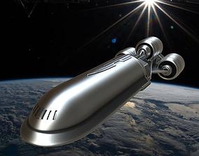 Star wars CSS-1 Corellian Star Shuttle 3D print model