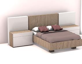3D model Modern Bed bedding