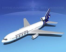 Douglas DC-10 International Cargo 3D model