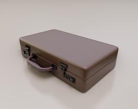 Briefcase - model in Blender 3D