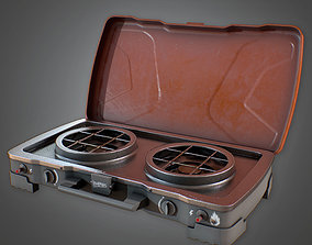 CAM - Portable Grill - PBR Game Ready 3D asset