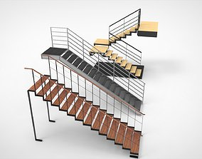Stairs 3D industry
