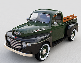 MERCURY M47 PICKUP 1949 3D model