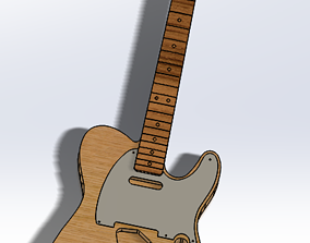 CNC Ready 52 Telecaster SS and HH 3D print model 3