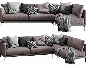 Interface Coco Sectional 4 3D