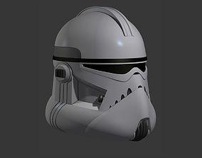 3D print model Clone Trooper Assassin Cosplay Helmet