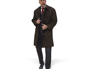 Standing Man with Coat CMan0342-HD2-O02P01-S 3D