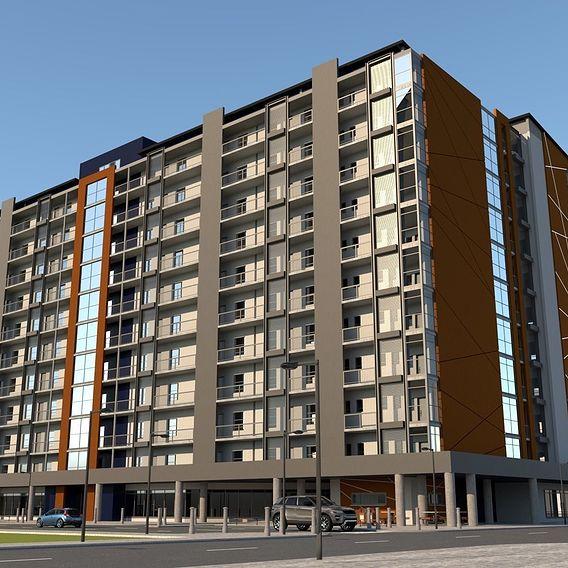 Hillbrow RDP Housing Project Johannesburg South Africa