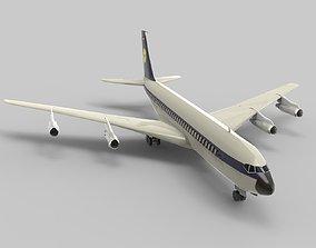 Boeing 707 Cargo Plane 3D model