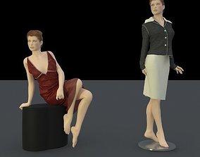3D model body shape for trade fair