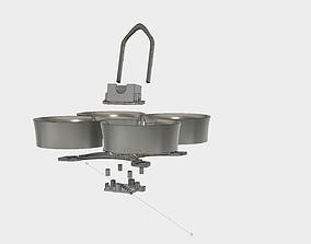 EZ-85 85MM V1 micro quadcopter frame 3D printable model