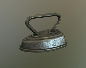 Antique Cuff Iron 3D asset
