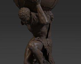 3D model Atlas Statue