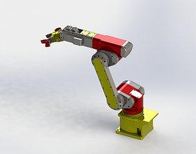 3D Solidworks Tutorial HP - Industrial Robot Arm