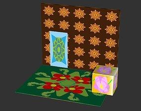 Texture 3D asset
