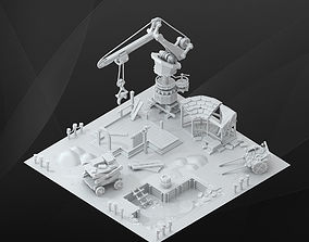 3D Game Building - Construction set